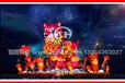 春节狗彩灯,狗花灯,狗年灯会灯组大量批发制作展出。