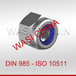 DIN982尼龙嵌件锁紧螺母