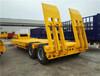 梁山专业订做2轴全新轻型挖掘机运输半挂车全国发货