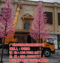 广州高空吊蓝车出租包天包月计时收费图天河区吊蓝车出租