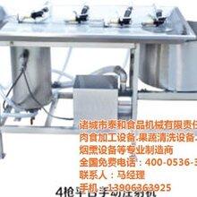 诸城泰和食品机械注射机售后内蒙古注射机图片