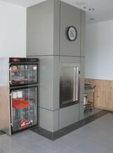 梅河口传菜机厨房食梯TWJ200传菜机安装图片