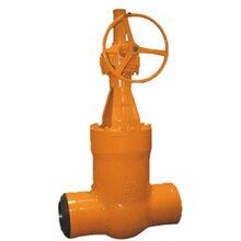 蜗轮闸阀焊接闸阀Z560Y-3500Lb蜗轮美标高压焊接闸阀