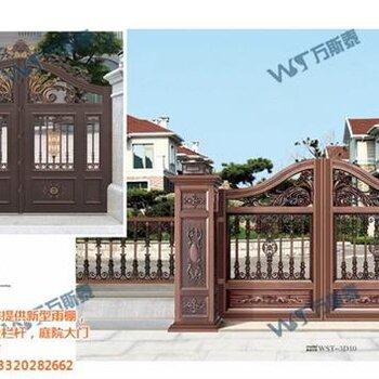 门建材 木门 别墅庭院门价格黔南庭院门万斯泰.