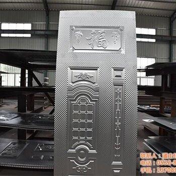红木门丨镀锌钣加工丨仿铜门丨铁门压花丨转印门丨镀锌板铁门大铁门