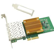 光润通千兆四光口服务器网卡F904E-V3.0Inteli350