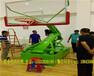 宁德公司生产遥控电动液压篮球架国际标准体育馆篮球架多钱一副