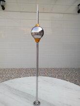 河南及时雨避雷针不锈钢单球避雷针简易家用优化避雷针价钱图片