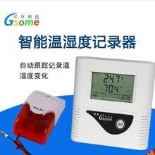 智能温湿度记录器RD-TH218冷库冰箱仓库机房声光报警温湿度记录仪