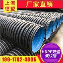 上海廠家供應HDPE雙壁波紋管金屬鋼帶波紋管圖片