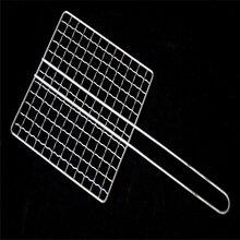 厂家直销镀锌烧烤网一次性烧烤网包边烧烤网日式韩式烧烤网