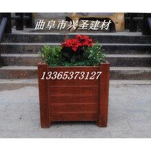 济南临沂仿木葡萄架花架仿木座椅坐凳仿木护栏栏杆花箱花桶图片