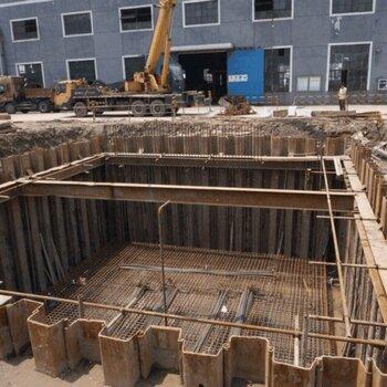 【铜川钢板桩施工队,拉森钢板桩施工队伍,宝鸡拉森桩