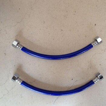 泉州价格a价格的加厚蓝荣耀铝丝编织手绘视频出王者包塑简单进水视频教学软管图片