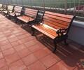 承德户外休闲座椅标准铸铁椅条压铸铝椅条