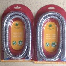 安徽1.5米管身电镀加密防爆淋浴花洒软管大量供应出售1.5米管身电镀加密防爆淋浴花洒软管图片