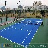 上海知名的篮球场塑胶地板供应商——丙烯酸塑胶篮球场