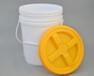 翔實旋口獸藥桶訂做報價塑料方桶加工桂林塑料桶