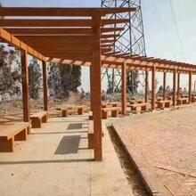 广安仿木花架、遂宁仿木坐凳、乐山仿木河堤护栏,雅安仿大理石围栏图片