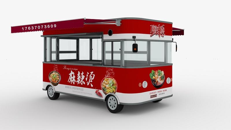 创业项目河南雅美可多功能小吃车成本多少钱