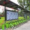 专业设计制造自行车棚_学校自行车棚