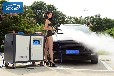 開一家蒸汽洗車多少錢,車無瑕洗車房便捷省時