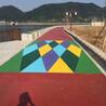 施工效果专业的彩色防滑地面-彩色地坪品牌好