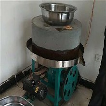 米浆石磨机自动升降,米浆石磨机,德川机械图片