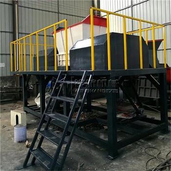 铭航机械图小型钢削粉碎机桂林市撕碎机