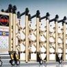 驻马店电动伸缩门每米价格金阳朝发门业提供的电动伸缩门好不好