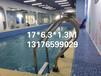 河北省唐山市市健身房標準裝配式組裝游泳池凈化水循環設備廠家就找游樂寶