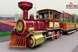 湖北品牌好的观光小火车哪里有售无轨观光列车厂家