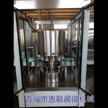 贵州白酒灌装机12头自动罐装生产线酒灌装设备图片