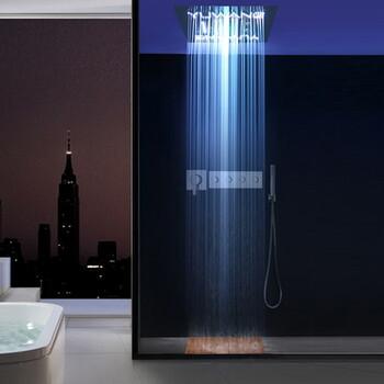 暗装淋浴龙头-乐浴卫浴报价合理的LED暗装花洒