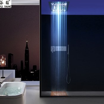 暗装淋浴龙头_购置LED暗装花洒优选乐浴卫浴