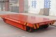 运输钢板镀锌板用轨道电动平车车间电瓶搬运车运行方案
