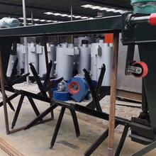 轨道式翻堆机有机肥发酵-发酵床技术应用轨道式翻抛机使用规范图片