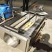 不锈钢连续式山药毛辊去皮机,红薯清洗机