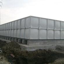 常州環保SMC玻璃鋼組合式水箱圖片