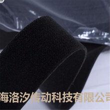 供应羊毛黑绒布包辊带图片