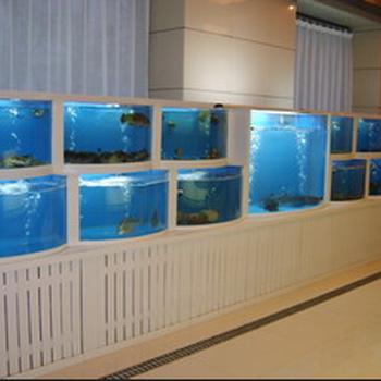 东莞三层海鲜鱼池东莞海鲜池设计图设计