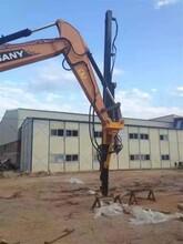 小型挖机可以改钻机吗 大笨象专业挖机改钻机厂家图片