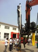 挖掘机改装潜孔钻挖机改钻机厂家技术成熟专业挖改钻图片