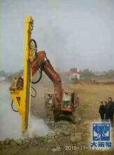 长沙又一台挖改钻机厂家进场调试成功图片