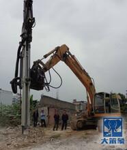 挖机改钻机挖掘机改钻机厂家图片