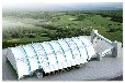 陜西西安山西太原氣膜煤棚哪家氣膜結構煤棚公司比較好