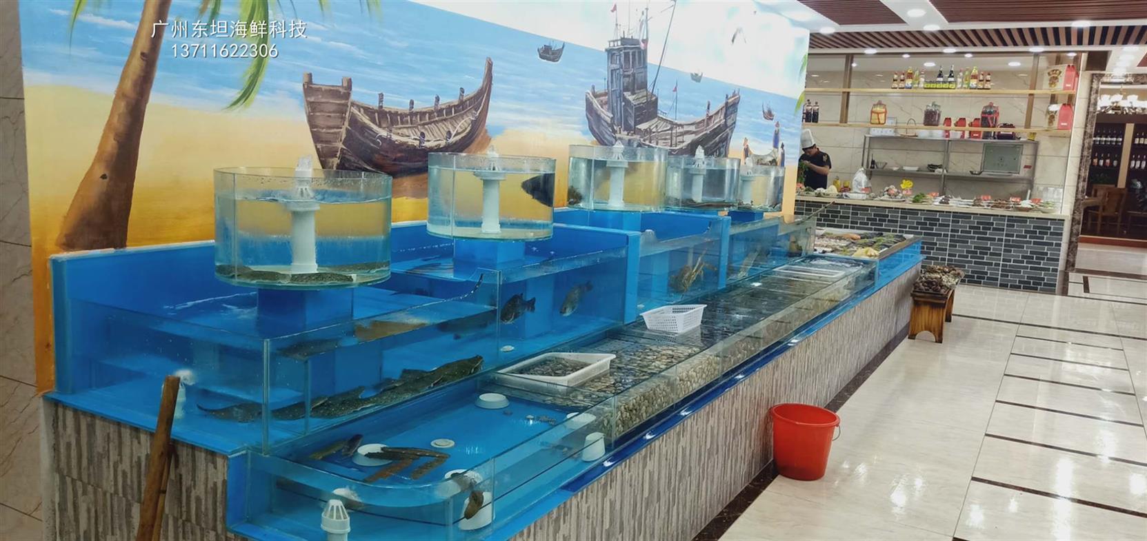 江門海鮮池定做哪家專業