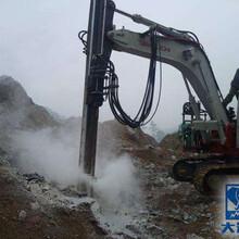 挖机改装的钻机挖掘机改装的钻机大笨象专业挖机改钻机图片