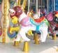 鄭州航天豪華轉馬,游樂園設備轉馬樣式優雅