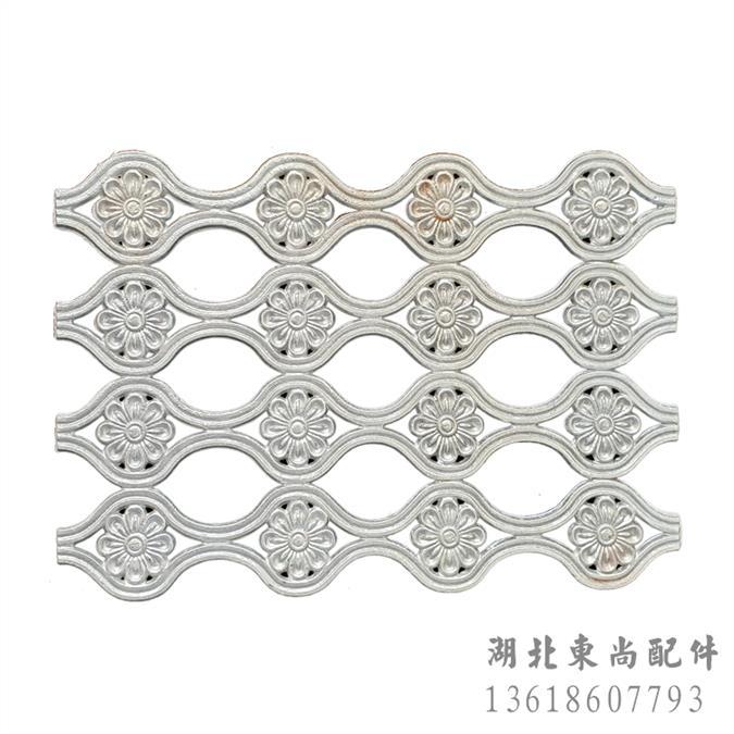 鞍山院墙护栏装饰铝花